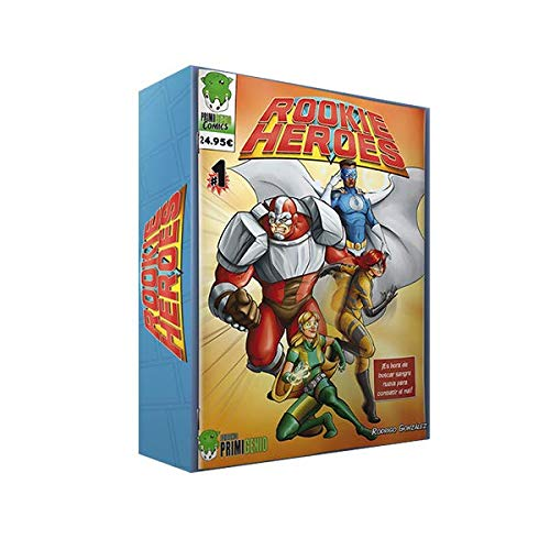 Rookie Heroes–Brettspiel (Editionen PRIMIGENIO eprh0001)