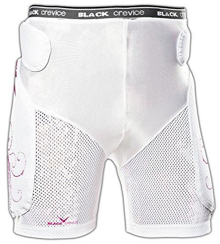 Black crevice/bC5359–Short de protection-blanc-bCR035359