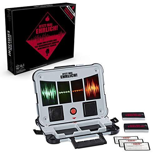 Jetzt mal ehrlich!, Partyspiel mit Lügendetektor, für 2 und mehr Spieler, ab 16 Jahren