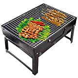 CANTROL BBQ Grill Portable Charcoal Barbecue Folding Lightweight Barbeque Grills Tools for Outdoor