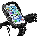 CYCLING 自転車 スマホ ホルダー 収納可能 防水 防圧 遮光 多機能 携帯ホルダー 6.0インチスマ……