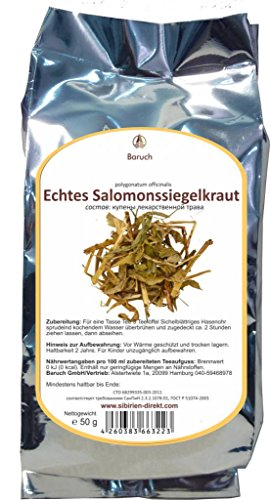 Salomonssiegelkraut - (Polygonatum officinalis) - 50g