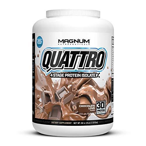 Magnum Nutraceuticals Quattro Chocolate Love Lactose-Free Protein...
