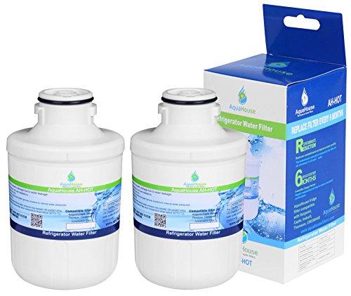 2x Filtro acqua AH-HOT per Thomson THSBS90WDWH / Hotpoint SXBD922FWD / Caple CAFF205 / Indesit C00300448 / Ariston/Electrolux - Compatibile
