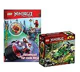 Lego Set Ninjago Lloyds 71700 - Juego de figuras de los ladrones de la jungla y ninjago (cubierta blanda)