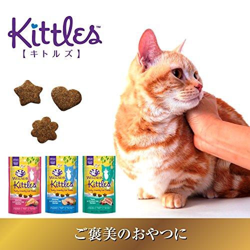 ウェルネスキトルズ(穀物不使用ご褒美のおやつ)ツナ[クランベリー入り]猫用(56g約150個/1袋)