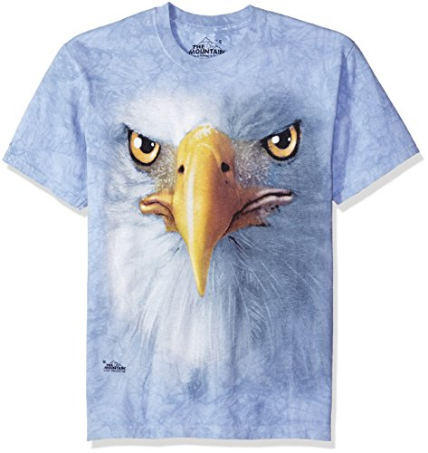 T-Shirt Eagle Face blau | S