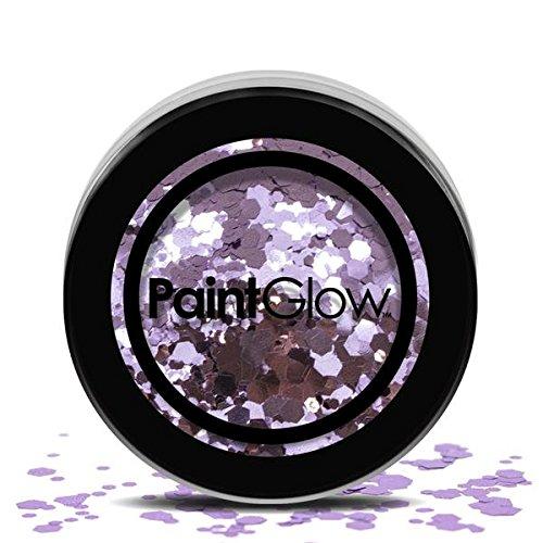 PaintGlow, grove cosmetica-glitter voor haar, gezicht en lichaam, helter skelter, 3 g