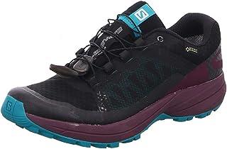 [サロモン] レディース 女性用 シューズ 靴 スニーカー 運動靴 XA Elevate GTX(R) - Black/Potent Purple/Tropical Green [並行輸入品]