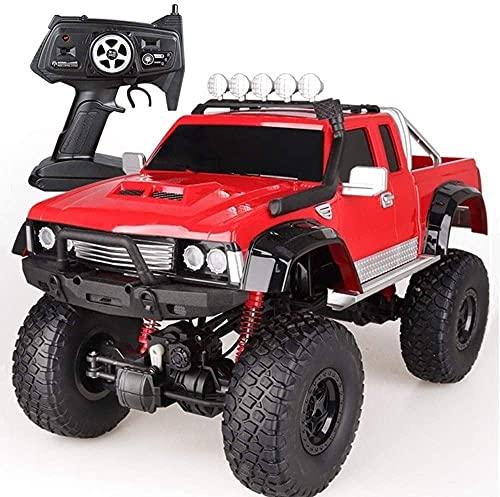 Camión RC Grande A Escala 1: 8, Potente Vehículo Todoterreno De Doble Motor, 4x4, Profesional, Todo Terreno, Carreras De Alta Velocidad, 2.4G, Modelo De Coche RC, Todoterreno Para Niños, Vehículo De E