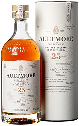 Aultmore Single Malt Whisky 25 Jahre (1 x 0.7 l)