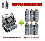 ALTIGASI Prime - Stufa STUFETTA A Gas Portatile...