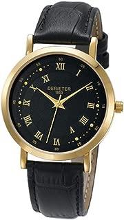 Fashion Men Women Quartz Watch Japan Movement Wristwatch Leather Strap Water Resistant Wrist Watch Roman Numerals
