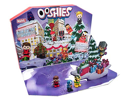 Ooshies 77170.0030 Marvel Adventskalender, Mehrfarbig