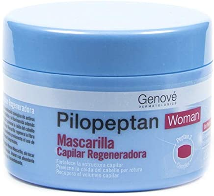 Genové Pilopeptan Woman Regenerative Hair Mask 200ml - Repairs, Nourishes and Softens Hair - Hair