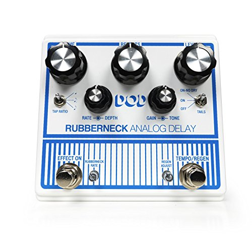 DOD Rubberneck Electric Guitar Analog Delay Pedal DOD0015