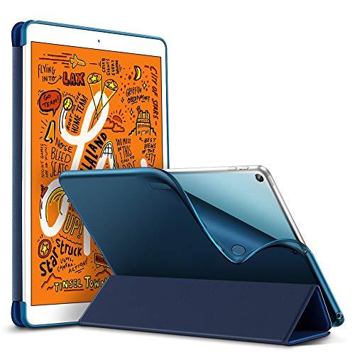 """ESR Hülle kompatibel mit iPad Mini 5 2019 7.9 Zoll - Ultra Dünnes Smart Case mit weiche TPU Backcover - Auto Schlaf-/Aufwachfunktion - Kratzfeste Schutzhülle für iPad Mini 7,9\"""" 2019 - Blau"""