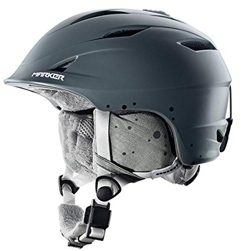 MARKER CONSORT WOMEN Damen Snowboardhelm Skihelm Ski Snowboard Helm 16540309(MIDNIGHT GREY,S (51 - 55cm))