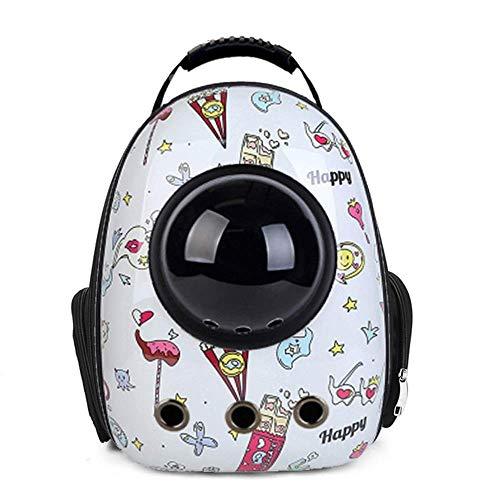 WWQQ Mascota jaula gato perro viaje senderismo camping mochila espacio cápsula burbuja impermeable bolso al aire libre portátil
