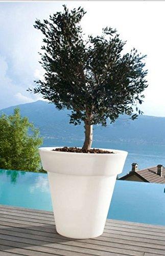 Gowe étanche H 16 couleurs lumineux Gota Pot de fleurs Fleur de sol Boughpot lumière LED Lampe Pot de fleurs d'extérieur, bol de fruits Plateau de service