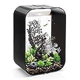 biOrb Life 60 Aquarium with MCR - 16 Gallon, Black