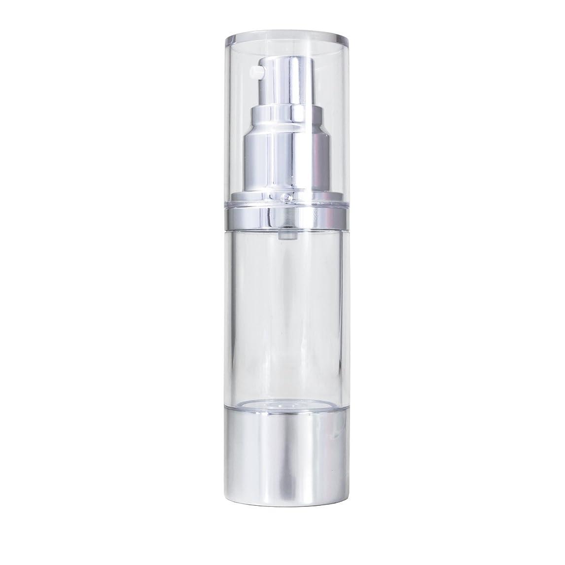 セメント矩形スリッパエアレス 容器 30ml 【化粧品容器】