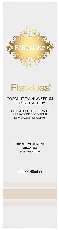 Fake Bake Flawless Coconut Tanning Glowing Tan Free shipping Serum Sunnless New sales
