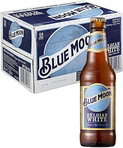 全米№1クラフトビール BLUE MOON(ブルームーン)330ml瓶(チェコ)×1ケース(24本)