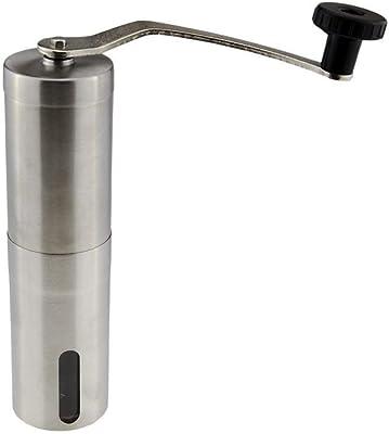 コーヒーグラインダー グラインダー ポータブル セラミック+ステンレス