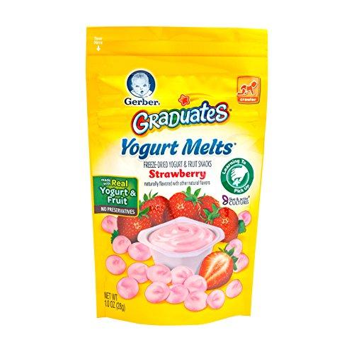 Gerber, Absolventen, Yogurt Melts, Erdbeere, 1,0 oz (28 g)