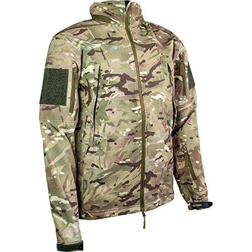 Highlander Mens Tactical Waterproof Breathable Softshell Jacket