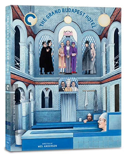 The Grand Budapest Hotel (2014) (Criterion Collection) UK Only [Blu-ray] [2020]