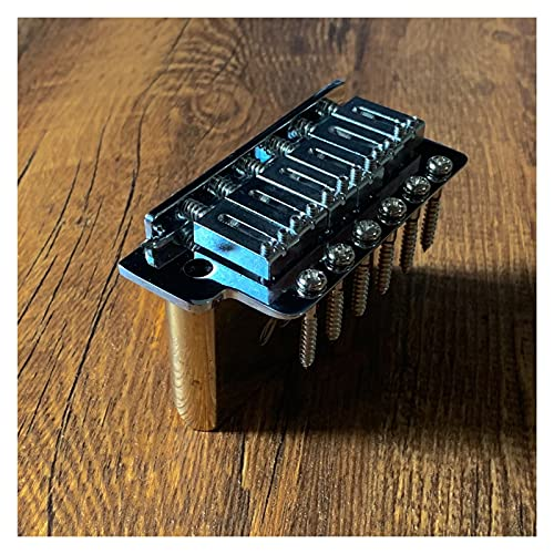 Todo Latón Stratocaste Retro Guitarra eléctrica Puente de Vibrato para Stratocaster 6-Point Single Guitar Pastillas de Guitarra eléctrica