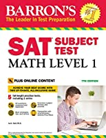 SAT Subject Test: Math Level 1 with Online Tests (Barrons Sat Subject Test)