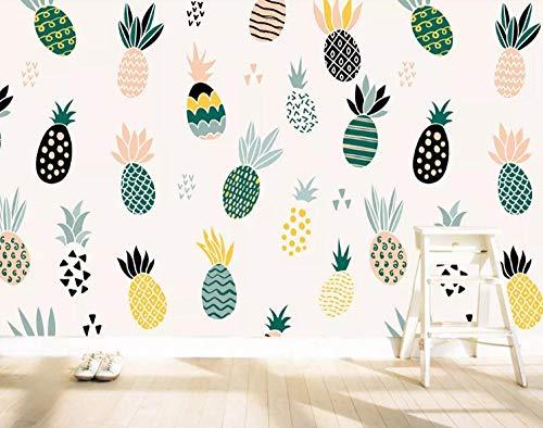 Papel Pintado Fotográfico Fruta Pared Papel Fotomural 3D Papel Tapiz Moderno Wallpaper Murales Dormitorio Sala de Estar Tv Fondo Decoración de Pared 140x100 cm