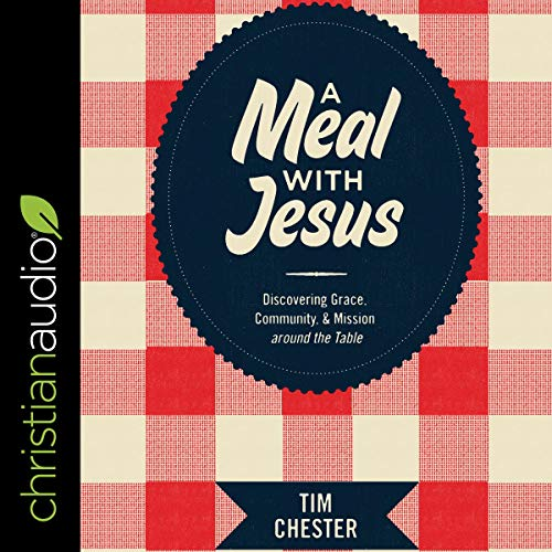 A Meal with Jesus audiobook cover art