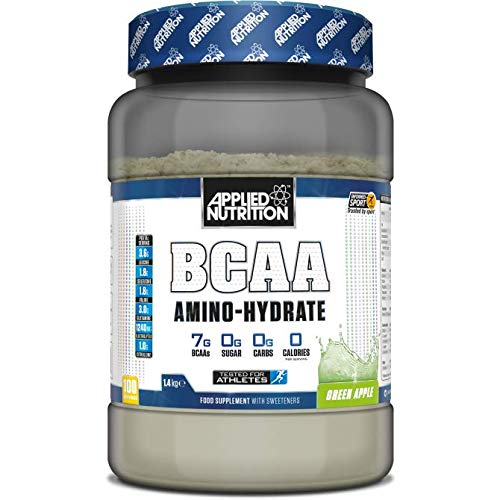 Applied Nutrition BCAA Amino Hydrate Drink-Mix, Green Apple