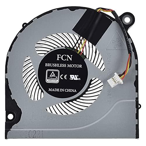 LPUK Ventilador de refrigeración de repuesto compatible con Acer Predator Helios 300 PH315-51, PH317-51, PH317-52