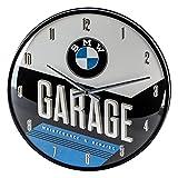 Nostalgic-Art 51077 BMW - Garage - Reloj Decorativo de Pared