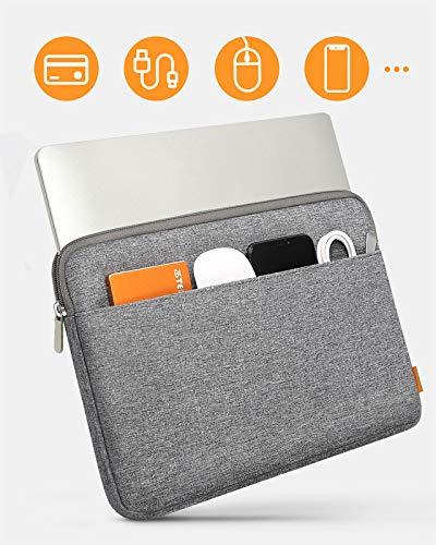 Inateck Tasche Hülle Kompatibel mit 13 Zoll MacBook Air 2012-2017, MacBook Pro 2012-2015/12,9 Zoll iPad Pro 2015-2017, 13,5 Surface Laptop, MateBook D14, Notebook Sleeve Schutzhülle Case