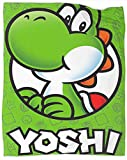 Coobal Super Paper Mario Yoshi Super Mario Fleece Blanket Throw Size Super Mario Bros Microfiber Blanket All Season Use Sofa Blanket Summer 60 x 50 inch