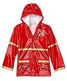 Little Boy's Red Fireman Rain Coat - Size 2T