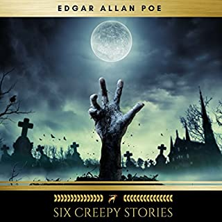 Six Creepy Stories audiobook cover art
