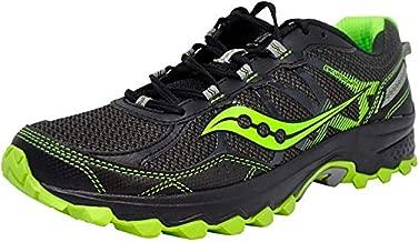 Saucony Men's Excursion Tr11 Black/Slime Running Shoe 11 M US