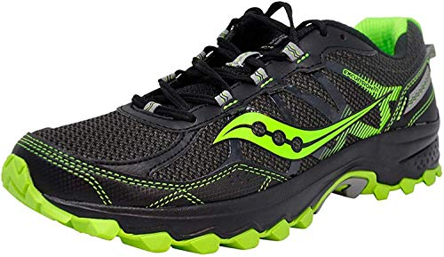 Saucony Men's Excursion Tr11 Black/Slime Running Shoe 10.5 W US