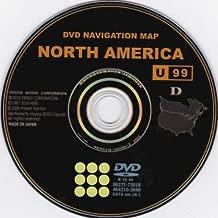 Toyota Gen 6 Navigation Latest 2018 Map Update DVD U99 Version 17.1 North America 86271-GEN06-17