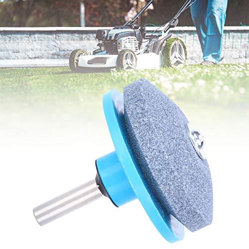 Práctica herramienta de pulir de hoja, herramienta de pulir, resistente al desgaste Práctico cian de larga duración Taladro eléctrico eficiente para pulir(Whetstone sander-blue)