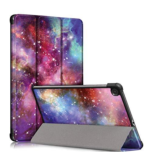 Tmore Schutzhülle für Samsung Galaxy Tab S6 Lite 10.4 SM-P610/SM-P615 mit Standfunktion und Auto-Wecker/Schlaf, Galaxy