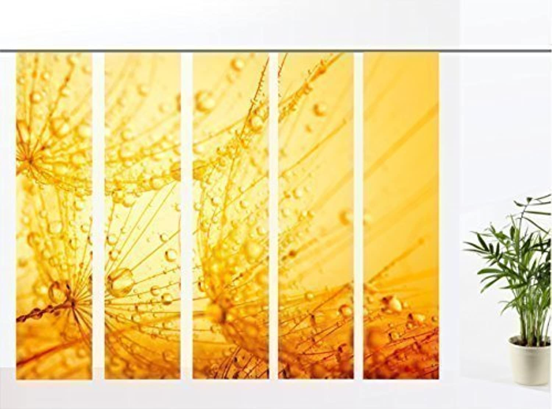Gardinen-for-life Flächenvorhang Dream Gelb Gelb Gelb - 5er - Serie, Set 5tlg, Jew. Gr.60x260 cm B00T5ZHX8I af35b0