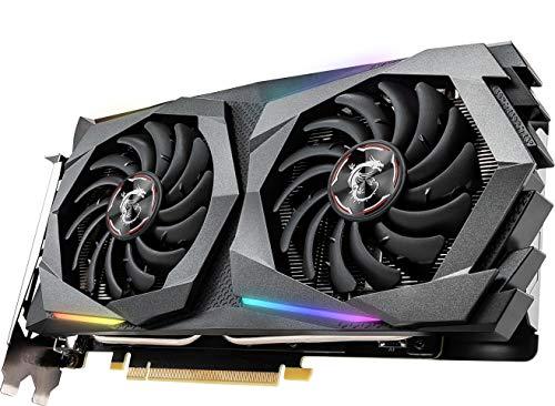 MSI Gaming GeForce GTX 1660 128-Bit HDMI/DP 6GB GDRR5 HDCP Support DirectX 12 Dual Fan VR Ready OC Graphics Card (GTX 1660 Gaming X 6G)